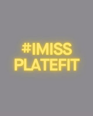 It's been a wild 6 months & we miss having you inside the studio. We want to bring some positivity back to our community & would love to know, what do you miss most about PLATEFIT? Share & tag us on your story or send us a personal message 💛 We can't wait to re-open, stronger than ever! #imissPLATEFIT