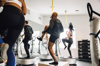 It's our signature class for good reason!  PLATEFIT - A full body workout - lunges, dips, planks - anything you can do on the floor, you can do on the plate!  Our therapeutic vibrations help: - Increase endurance - Improves blood flow - Creates lymphatic flush